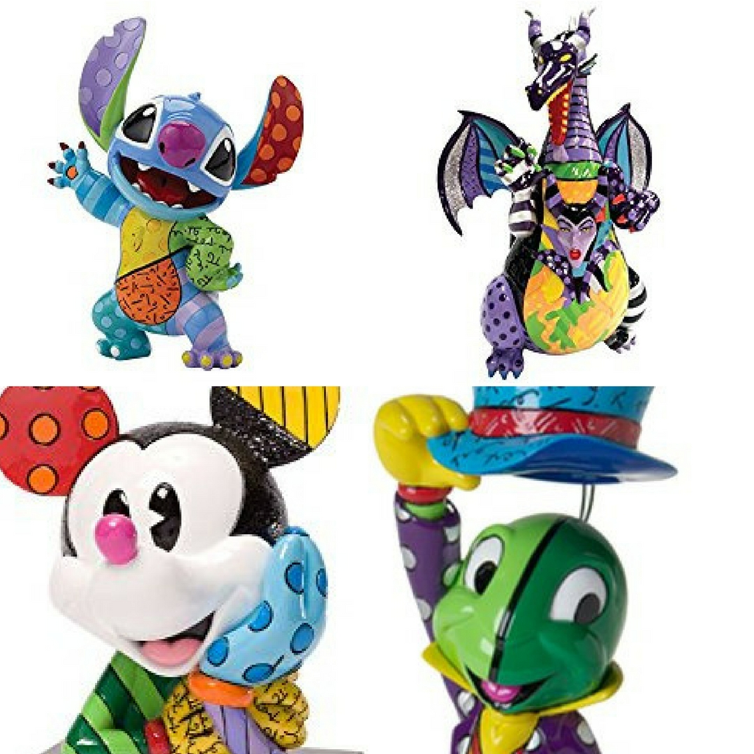 15 Disney Figurines by Romero Britto to Fall in Love With