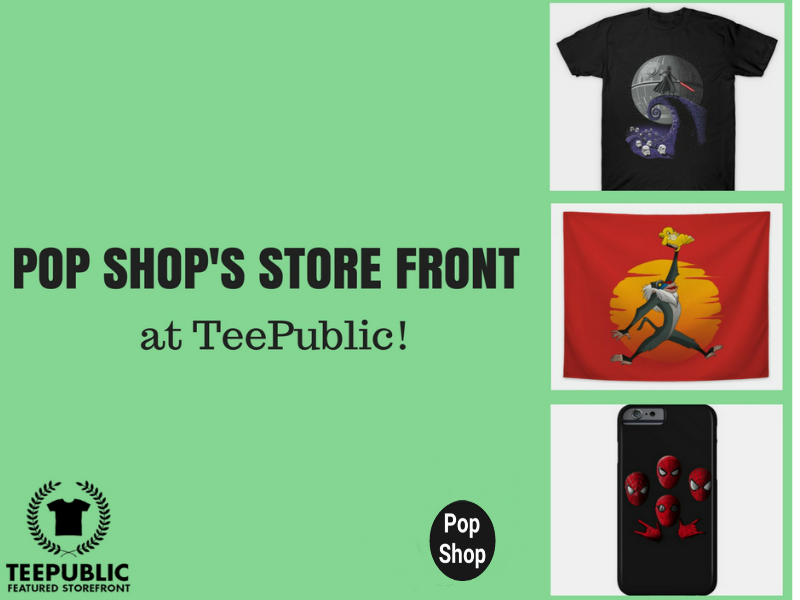 Pop Shop x TeePublic