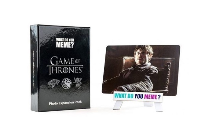 "A ""Game of Thrones"" Expansion Pack to ""What Do You Meme"" Is Here"