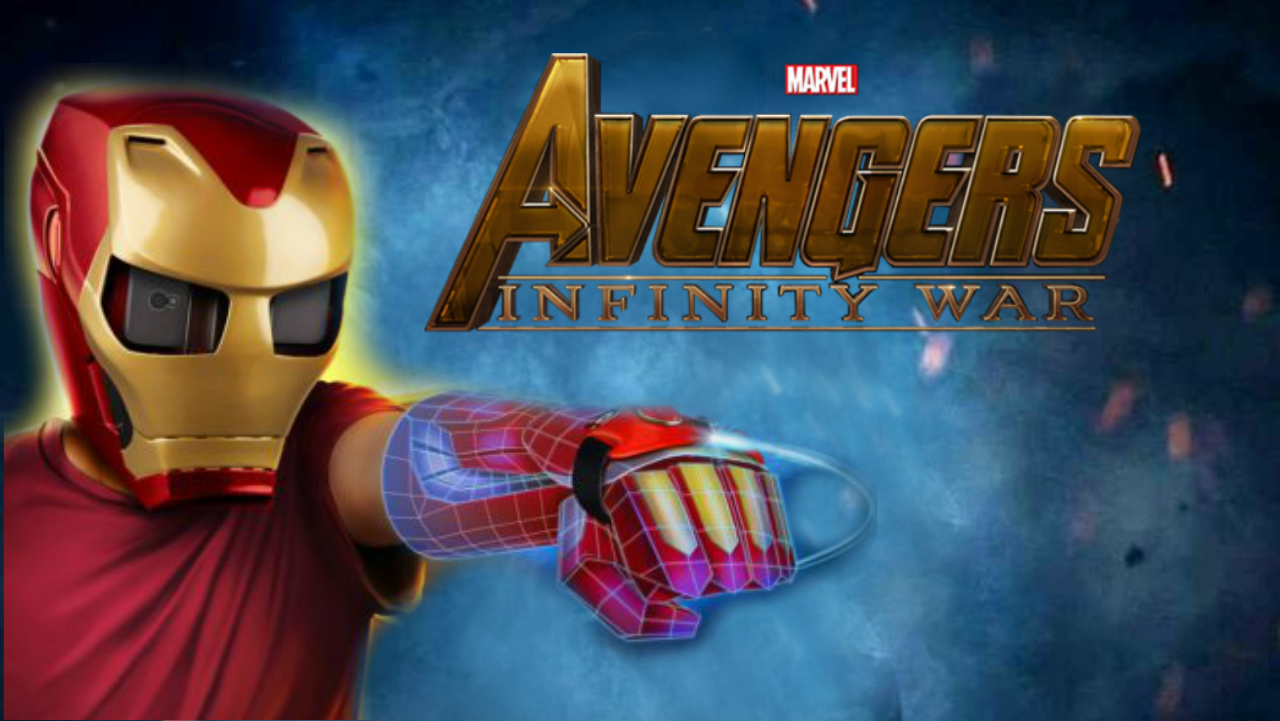Defeat Thanos With This Augmented Reality Iron Man Helmet
