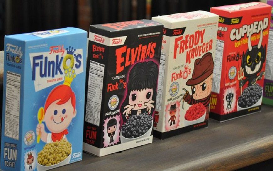 Snap, Crackle, Funko Pop? Funko Will Be Launching a Cereal Line