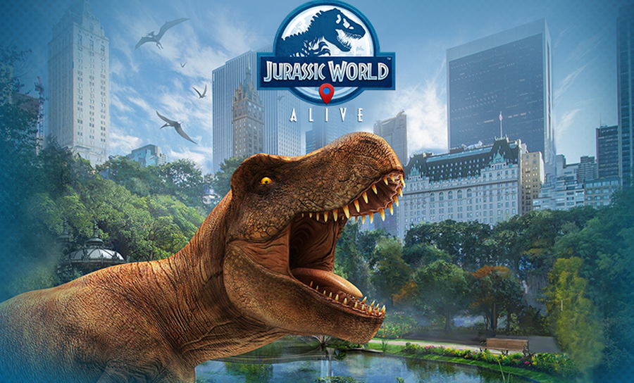 "Become a Dinosaur Hunter with ""Jurassic World Alive"""