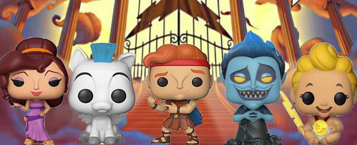 These Hercules Funko Pops Went from Zero to Hero