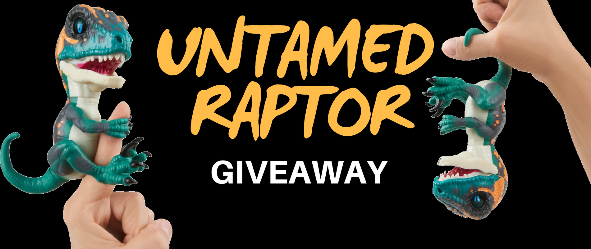 """Untamed Raptor"" Instagram Giveaway"