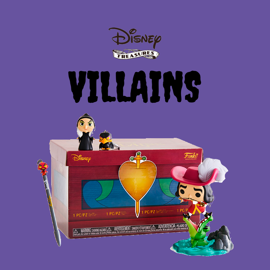 FUNKO DISNEY TREASURES: My Favorite Part of the Disney Treasures Villains Box