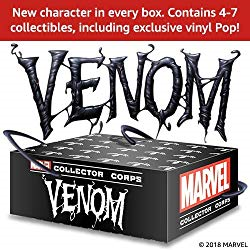 "The Next Funko Marvel Collector Corps Is ""Venom"""