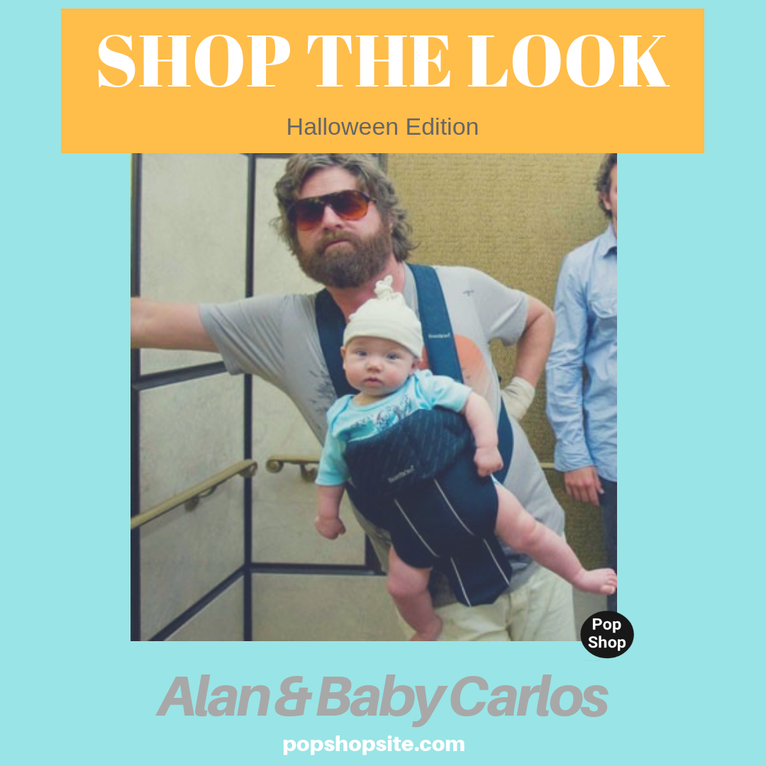 SHOP THE LOOK: Alan and Baby Carlos Costume
