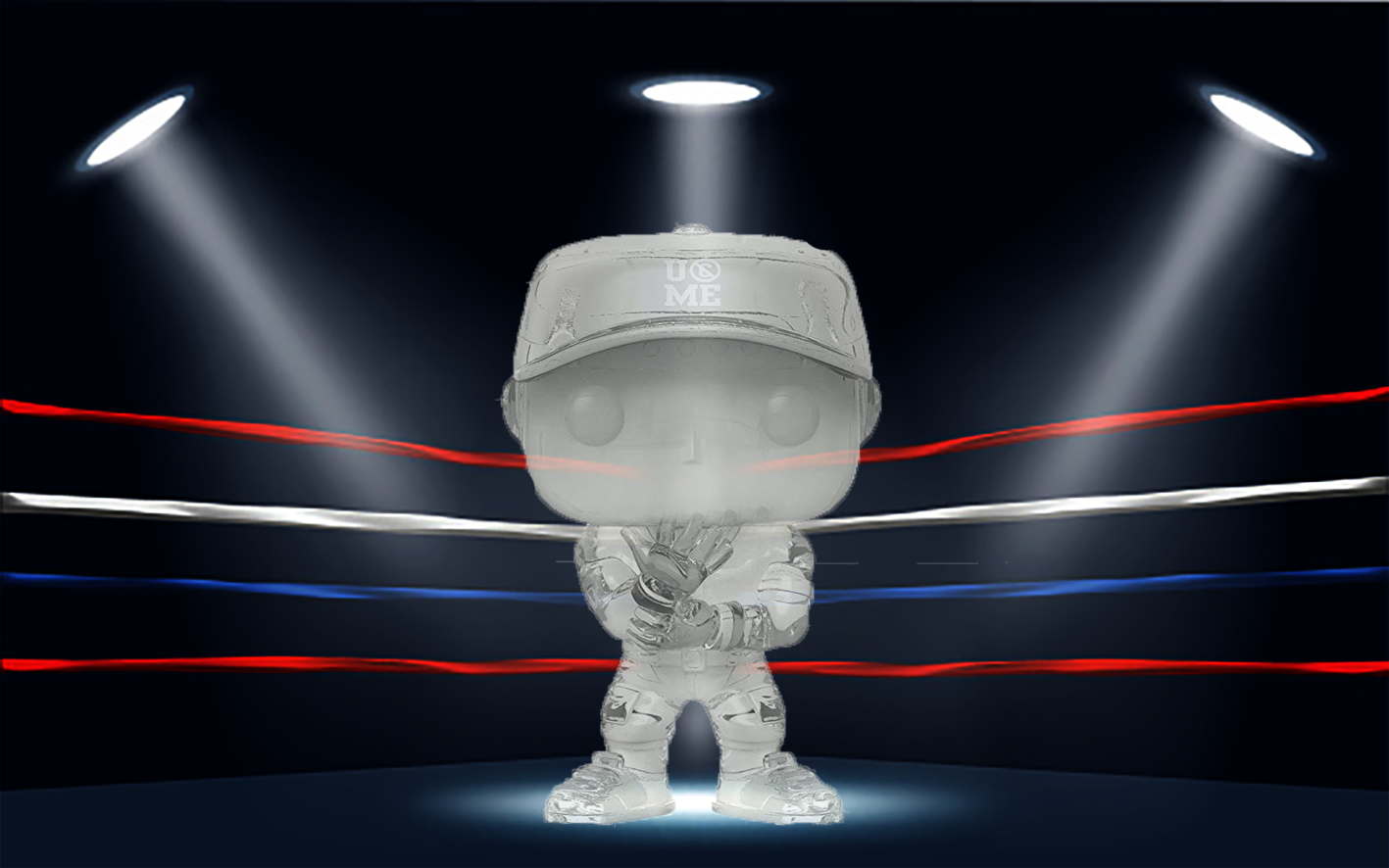 The New Invisible John Cena Funko Pop Is AWESOME