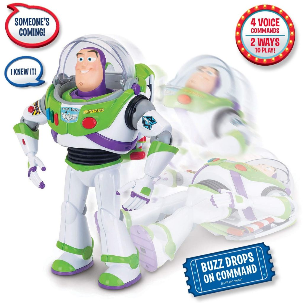 Interactive Buzz Lightyear from Thinkway Toys