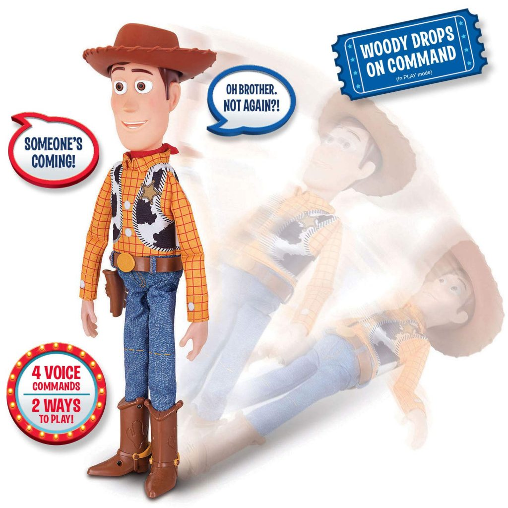 Interactive Woody from Thinkway Toys