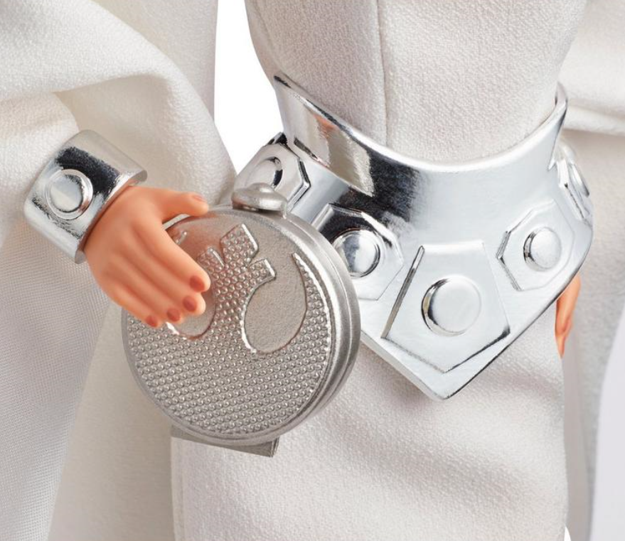 Star Wars Barbie Princess Leia Clutch