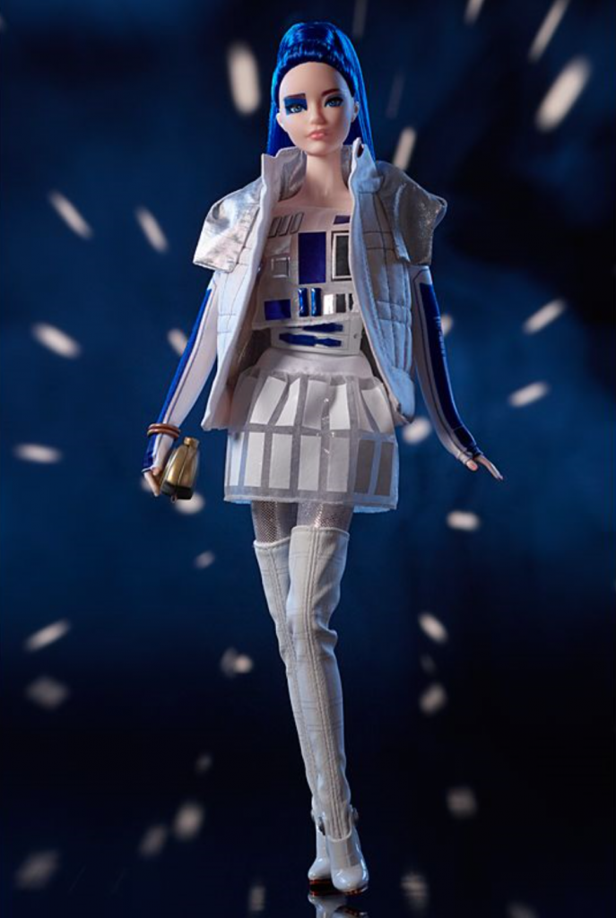 Star Wars Barbie R2-D2