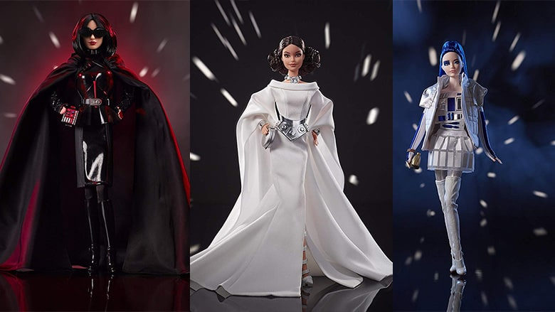 Star Wars Barbie Dolls: A Fashionable Take on Iconic Characters