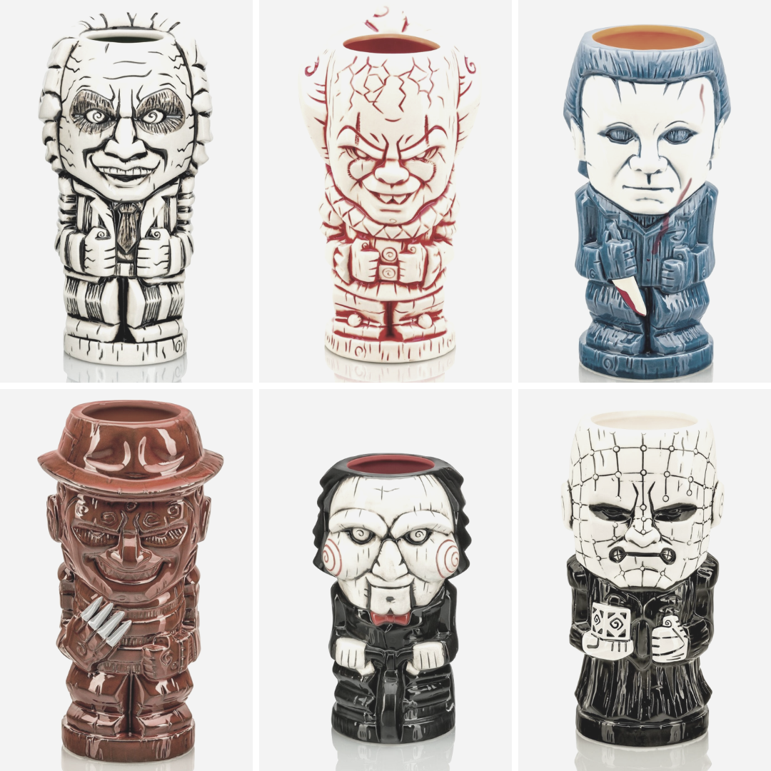 Horror Geeki Tikis: Here are 10 to Check Out