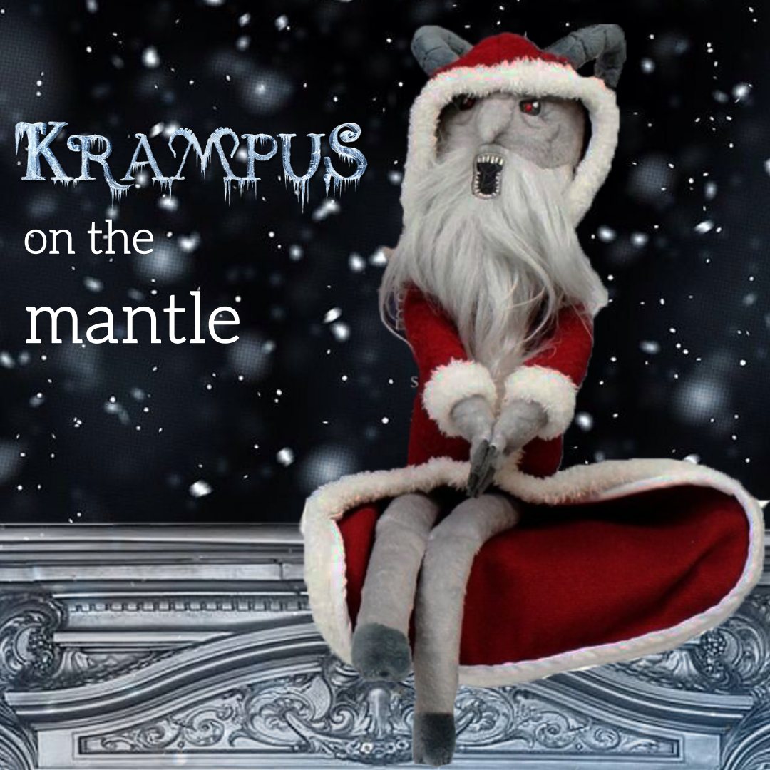Krampus on the Mantle Now Available