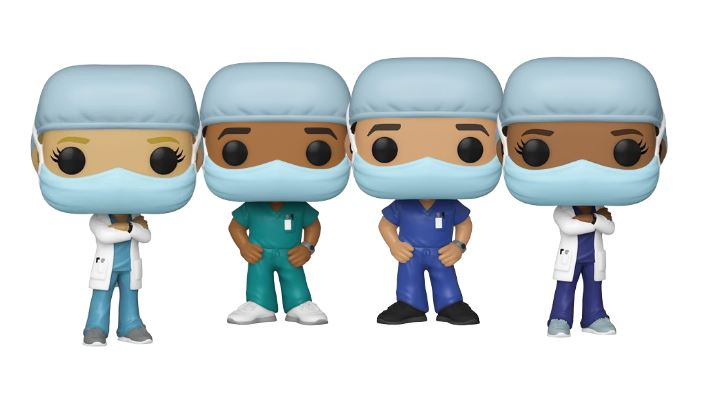 Funko Pop Heroes Doctors and Nurses - Pop Shop
