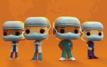 Funko Pop Honors Doctors and Nurses with New Figures