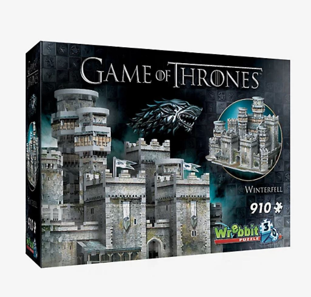 Game of Thrones Winterfell 3D Puzzle - Pop Shop Gift Guide