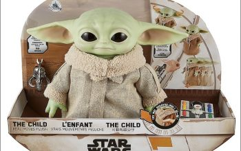 Pre-Order 'The Child Real Moves Plush' by Mattel