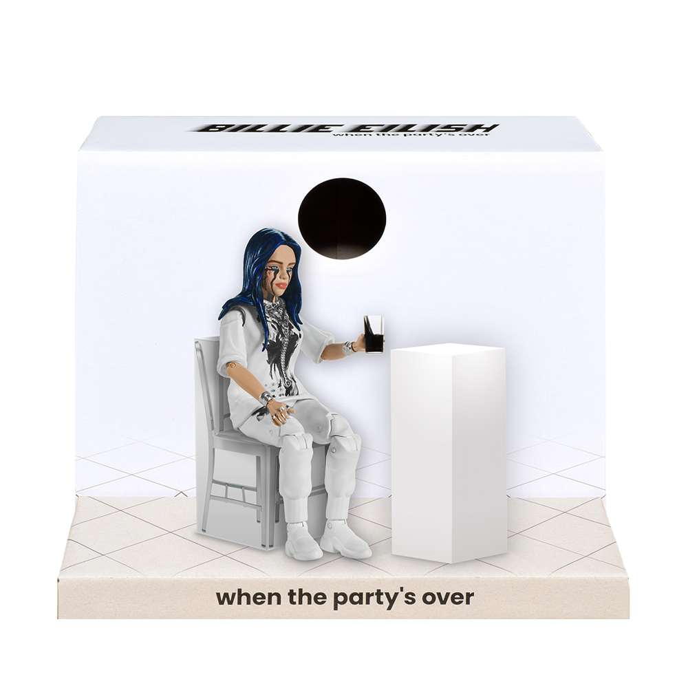 Billie Eilish Dolls - When The Party's Over Figure
