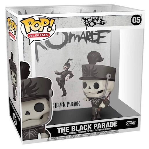 Funko Pop Albums - My Chemical Romance